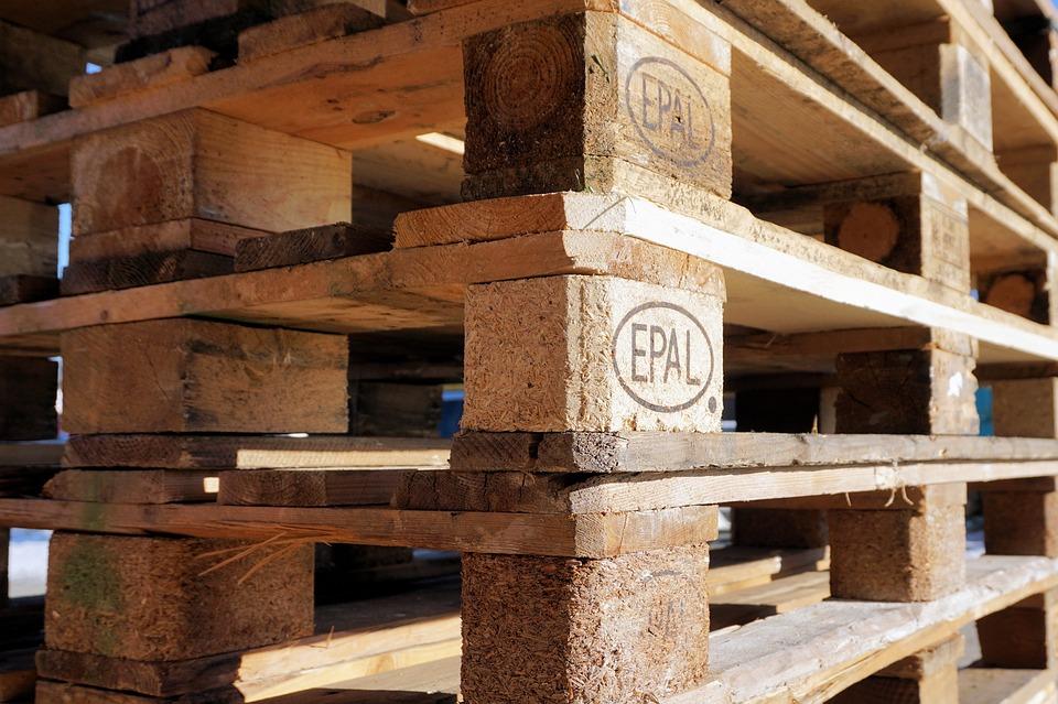 Palets de madera, imprescindibles