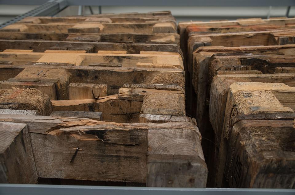 Palets de madera en Barcelona