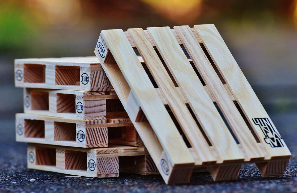 Decoración con palets de madera